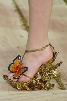 Alexander McQueen - maybe not so friendly but we do love them anyway!