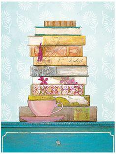 books & tea, what more do you need?