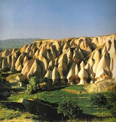 The Cappadocia and the Goreme valley  country : Turkey