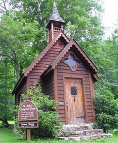 St Judes Chapel of Hope Trust NC.In the community of Trust at the junction of NC highways 209 and 63, you will be delighted with the sight of  a small chapel.  And, your delight will increase knowing that it's always open to the public. St. Jude's Chapel of Hope was built in 1991 by Beverly Barutio and her husband to thank the saint whom she credits with her miraculous recovery from cancer. Made of cedar, the chapel features stained-glass windows; four small, polished