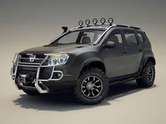 Want to make your Renault Duster stand out from the crowd. Here are a few modification ideas that'll help you with that. Dacia Duster, Jeep Grand Cherokee Laredo, Grand Vitara, 4x4 Off Road, Suv Cars, Car Tuning, Roof Rack, Car Manufacturers, Offroad