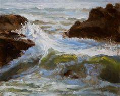 "Daily Paintworks - ""Oregons Offering"" - Original Fine Art for Sale - © Sandy Byers"