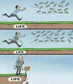 Life la  nala irukanunu oditey iruka vendiyathu than
