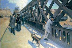 Gustave Caillebotte The Pont du Europe 1876