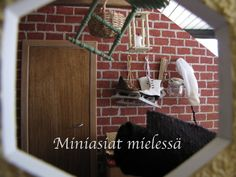 Miniasiat mielessä on Suomen 5. ihanin blogi :) Finland, Dollhouse Miniatures, Projects, Log Projects, Blue Prints, Doll House Miniatures