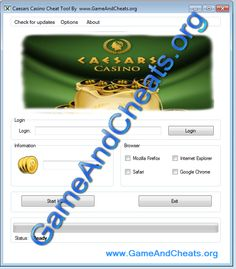 caesars casino hack cheat engine
