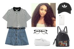 """Sem título #86"" by i-not-am-niall-horan ❤ liked on Polyvore featuring Chicnova Fashion, Superga, Topshop and Fendi"