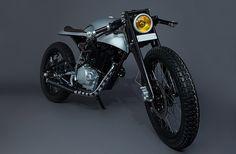 Hero Honda Karizma 'Silver' by Mean Green Customs  |  Pipeburn.com
