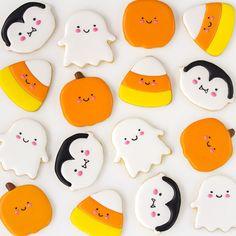 Postreadicción: Galletas decoradas, cupcakes y cakepops: Galletas decoradas de Halloween