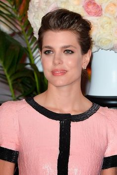 Charlotte Casiraghi attends the Rose Ball 2015 in aid of the Princess Grace Foundation at Sporting Monte-Carlo on 28.03.2015 in Monte-Carlo, Monaco.