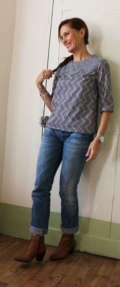robe viviane - republique du chiffon