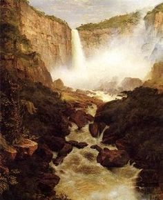 Frederic Edwin Church - Tequendama Falls  Near Bogota  New Granada