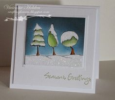 http://craftinghaven.blogspot.ca/2014/08/snowy-trees.html Purple Onion