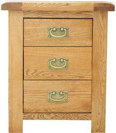 Grasmere Solid Oak Bedroom Furniture Bedside Cabinet Stand Unit | eBay