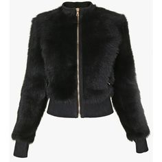 Fur bomber jacket | Women's leather coats | Balmain ($4,420) ❤ liked on Polyvore featuring outerwear, jackets, bomber jacket, blouson jacket, balmain jacket, 100 leather jacket and genuine leather jackets