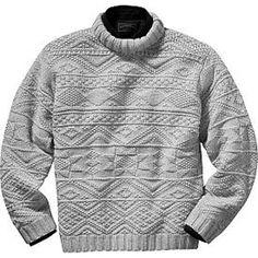 Irish Fisherman's Sweater