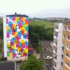 Above.. . #streetart
