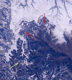 That itty bitty creeping line is the Great Wall of China from space.  I'd settle for seeing on Earth.