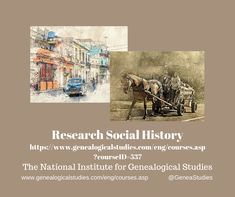 Course for Social History Research.  #Social History #genealogy #familyhistory Books Australia, Online Stories, Family Research, Baltimore City, Mental Health Resources, Oral History, Education English, Historian, Family History