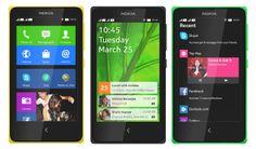Nokia lança linha de celulares com Android.