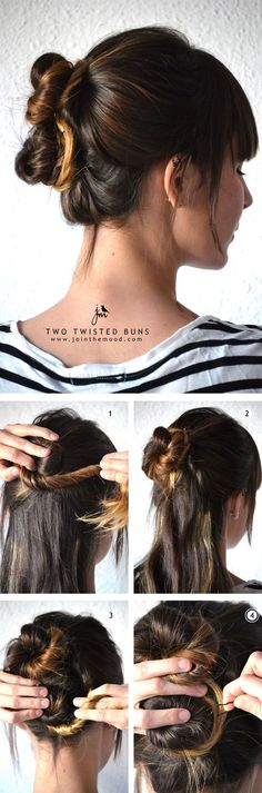 5 min hairstyles