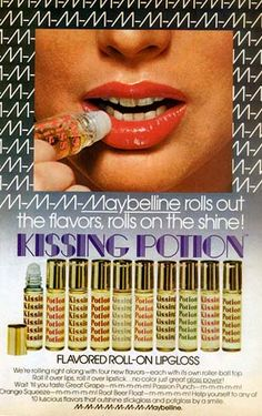 Maybelline Kissing Potion, 1970s - Retronaut OM Gosh, I used this stuff.