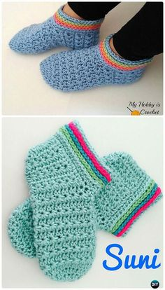 Already in my favorites on Ravelry---Crochet Starlight Women Slippers Free Pattern - Crochet Women Slippers Free Patterns Easy Crochet Slippers, Crochet Slipper Pattern, Crochet Boots, Crochet Gloves, Crochet Baby, Knit Crochet, Crochet Designs, Crochet Patterns, Ravelry Crochet
