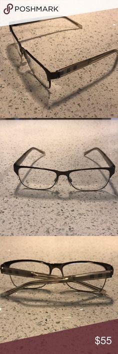3de85d252da Burberry Eyeglasses Frame Eyeglasses Metal Plastic Burberry Accessories  Glasses Eyeglasses