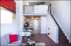 Space Lofts, Toronto - Photos Toronto Lofts, Concrete Ceiling, Toronto Photos, Steam Room, Floor To Ceiling Windows, Guest Suite, Lockers, Interiors, Flooring