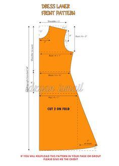 Proud Sewist : Pola Dress Layer / Layer Dress Pattern - Proud Sewist : Pola Dre. - Proud Sewist : Pola Dress Layer / Layer Dress Pattern – Proud Sewist : Pola Dress Layer / Layer - Sewing Paterns, Dress Sewing Patterns, Sewing Patterns Free, Clothing Patterns, Pattern Dress, Pattern Sewing, Blouse Patterns, Frock Patterns, Skirt Sewing