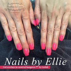 #Gel #overlays in #carnival hangover by #nailsbyellie #thebeautycentrebraintree #nails #summer #nails #nailedit #instanails
