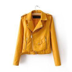 Women's Slim Fit Motorcycle Jacket