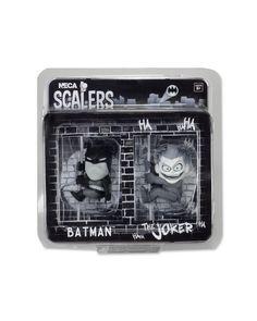 SCALERS NECA//SET 8 PCS JOKER BATMAN IRON MAN SPIDERMAN FREDDY JASON PREDATOR 5CM