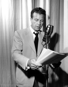 Old Time Radio Stars | Dick Powell, star of screen, radio, TV, was a solid professional who ...