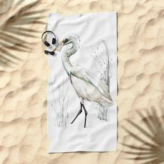 Mr Kotuku , New Zealand White Heron Art Print by EmilieGeant Artwork. Worldwide shipping available at Society6.com. Just one of millions of high quality products available.