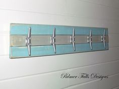 Boat Cleat Rack / Towel Rack / Nautical Coat Rack / Nautical Nursery Decor/ Nautical Bathroom Decor / Lake House Decor / Beach Decor / Pool on Etsy, $65.00