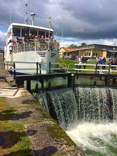 Göta Kanal, Linköping, Sweden