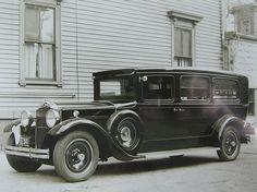 1932 Packard hearse