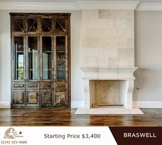Cantera Fireplaces by Texas Stone Creations