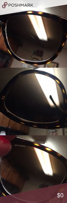 Posting for return Here's views of the lens showing the scratches Accessories Sunglasses