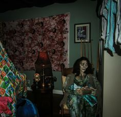 Scary nursery. Scary Halloween