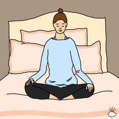Mache diese Bewegung jeden Abend vor dem Einschlafen und beobachte das anschliessende Wunder.   LikeMag - Social News and Entertainment
