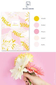 Créez votre cahier personnalisé à partir de jolies nuances qui suivent les tendances de la mode et de la déco. #nuancier #palette #inspiration #fetedesmeres #mothersday #nature #printemps #rose #jaune #cahier #notebook #personnalise #lesjoliscahiers Web Design Trends, Le Jolie, Brand Board, Branding, Inspiration, Color, Quirky Gifts, Shades, Biblical Inspiration