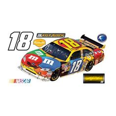 NASCAR Kyle Busch #18 COT 2009 Wall Graphic by Fathead. $99.99. Fathead wall graphics are made from tough, tear- and fade-resistant vinyl and feature high-resolution 3D graphics. Includes main image and additional separate mini images. Fathead wall graphics use a low-tack adhesive that allows them to be moved and reused without damaging surfaces.