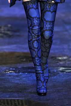 brsis:    unf, ditch the matching cigarette legged trousers - what you want this season is clearly matching thigh-high boots