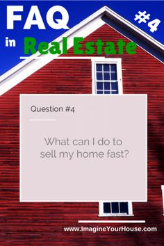 What can I do to sell my home fast - http://www.imagineyourhouse.com/2014/06/26/can-sell-home-fast/ via @lynnpineda #Homesellingtips #Realestate