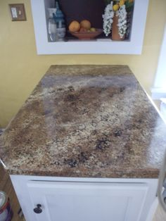 Countertop Remodel With Giani Granite! An Affordable Way To Revamp Your  Outdated Countertops.