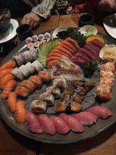 Sushi in brazil