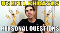 USEFUL PHRASES: Como fazer PERSONAL QUESTIONS!!! | Prof. Newton Rocha #d...