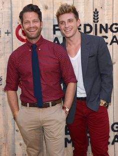 Nate Berkus and Jeremiah Brent - Arrivals at the FEED USA + Target Launch Event